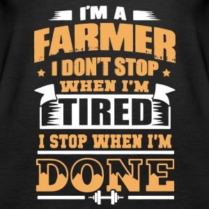Farmer Tee Shirts - Women's Premium Tank Top