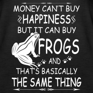 FROGS ARE MY HAPPINESS TEE SHIRT - Women's Premium Tank Top