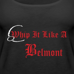 Castlevania Whip It Like A Belmont - Women's Premium Tank Top
