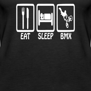 Eat Sleep BMX Funny Standard - Women's Premium Tank Top