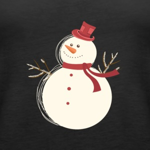 Snow man - Women's Premium Tank Top