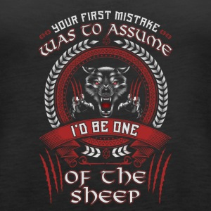 I'd Be One Of The Sheep Wolf Of Odin T-Shirt - Women's Premium Tank Top