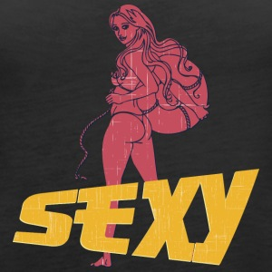 sexy_hot_ass_girl_vintage - Women's Premium Tank Top