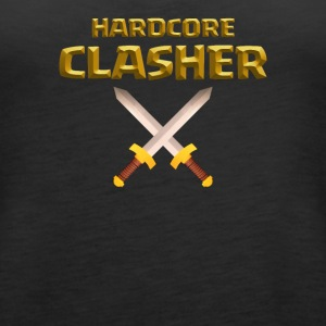 Hardcore Clasher Clash of Clans Players and Fans - Women's Premium Tank Top