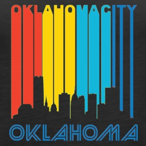 Retro Oklahoma City Skyline - Women's Premium Tank Top