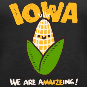 IOWA We are a MAIZE ing - Women's Premium Tank Top
