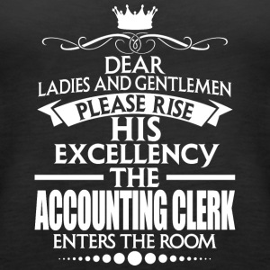 ACCOUNTING CLERK - EXCELLENCY - Women's Premium Tank Top