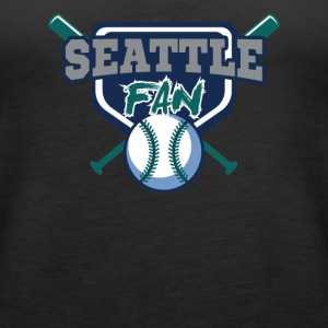 seattle baseball shirt - Women's Premium Tank Top