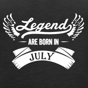 Legends are born in July - Women's Premium Tank Top