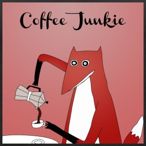 Coffee Junkie - Women's Premium Tank Top