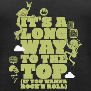 it s a long way to the top - Women's Premium Tank Top