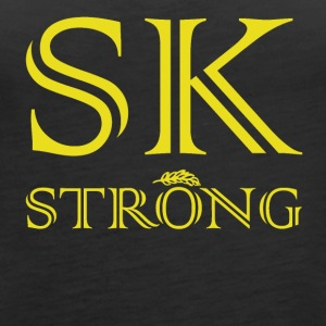 SK STRONG Gold - Women's Premium Tank Top