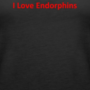 I Love Endorphins - Women's Premium Tank Top