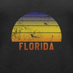 Florida Retro Vintage 70s Throwback - Women's Premium Tank Top