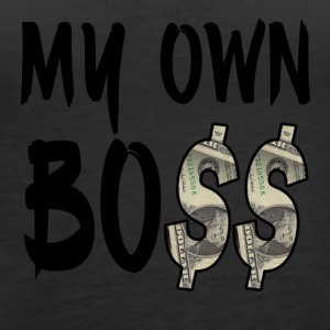 My Own Bo$$ - Women's Premium Tank Top