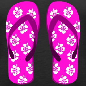 flip flops SUMMER - Women's Premium Tank Top