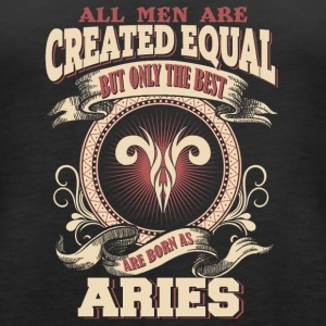 The Luckiest Men Are Born As Aries - Women's Premium Tank Top