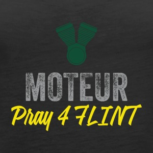 Pray 4 FLINT - Women's Premium Tank Top