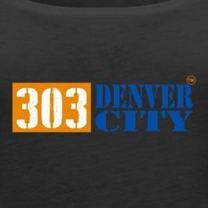 303DENVER CITY - Women's Premium Tank Top