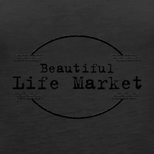 Beautiful Life Market - Women's Premium Tank Top