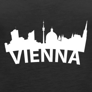 Arc Skyline Of Vienna Austria - Women's Premium Tank Top