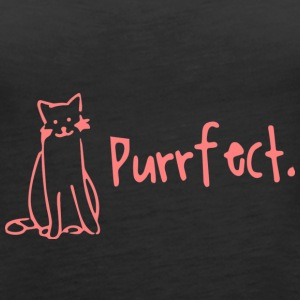 Perfect Cat Shirt Gift - Women's Premium Tank Top