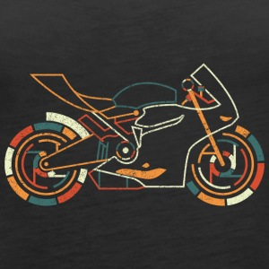 Superbike T SHirt - Women's Premium Tank Top
