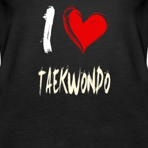I love TAEKWONDO - Women's Premium Tank Top
