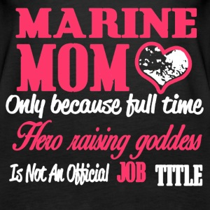 MARINE MOM SHIRT - Women's Premium Tank Top