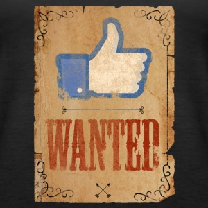FACEBOOK LIKE WANTED - Women's Premium Tank Top