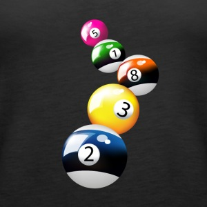 billiard pool - Women's Premium Tank Top