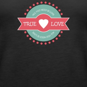 Valentine s Day True Love - Women's Premium Tank Top