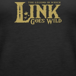 Link Gone Wild - Women's Premium Tank Top