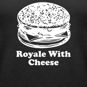 Royale With Cheese - Women's Premium Tank Top