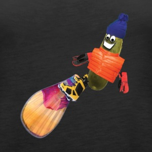 Snowboard Pickle - Women's Premium Tank Top