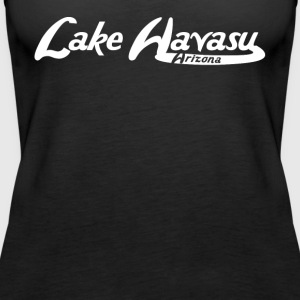 Lake Havasu Arizona Vintage Logo - Women's Premium Tank Top