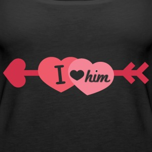 I love him - Women's Premium Tank Top