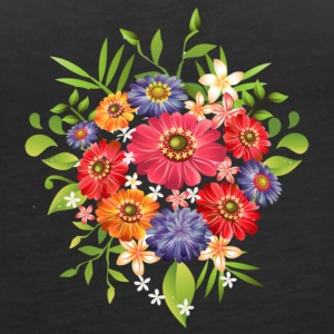 summer flowers - Women's Premium Tank Top