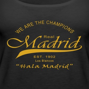 Madrid, We Are The Champions - Women's Premium Tank Top