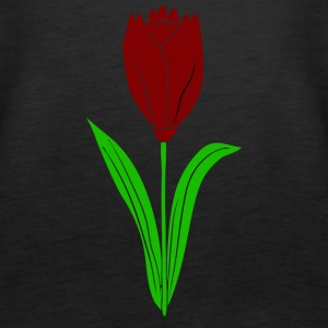 red tulip - Women's Premium Tank Top