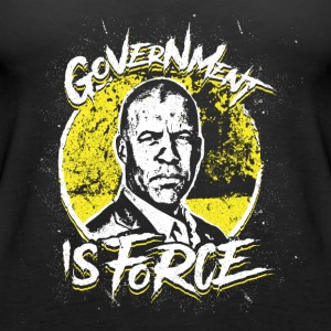 Larry Sharpe - Libertarian - Government is Force - Women's Premium Tank Top
