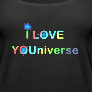 I LOVE YOU UNIVERSE ii - Women's Premium Tank Top