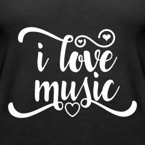Love Music - Women's Premium Tank Top