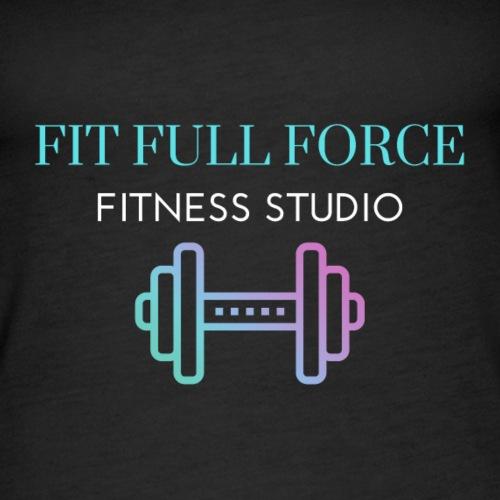 FIT FULL FORCE FITNESS STUDIO - Women's Premium Tank Top