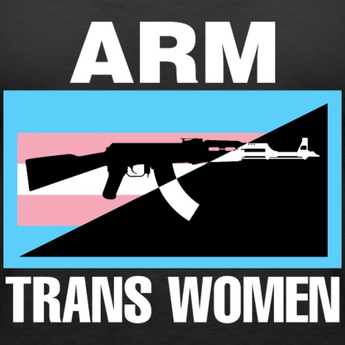 Arm Trans Women digital print - Women's Premium Tank Top