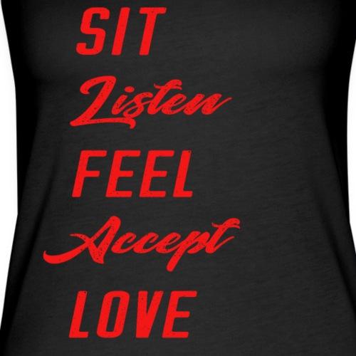Meditation Tips for Beginners T-shirt or Tank - Women's Premium Tank Top