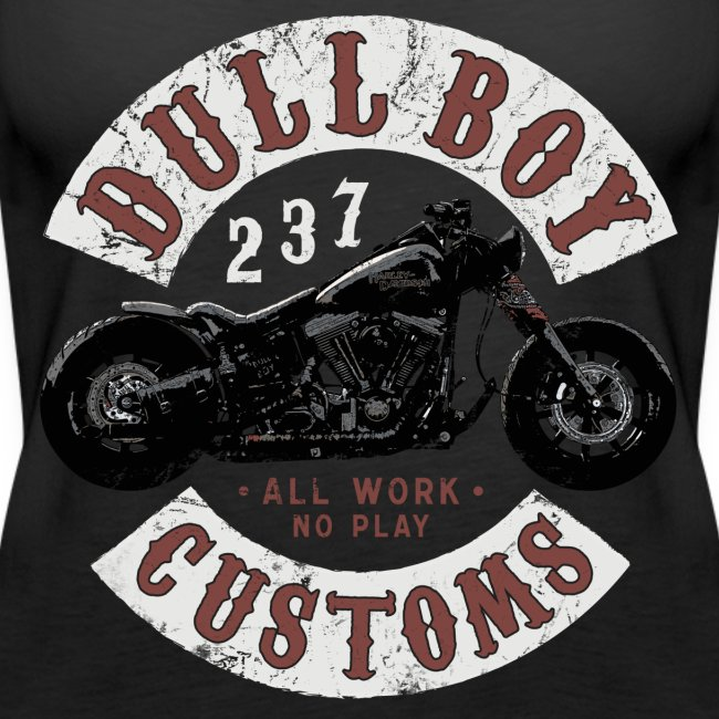 Dull Boy Customs patch