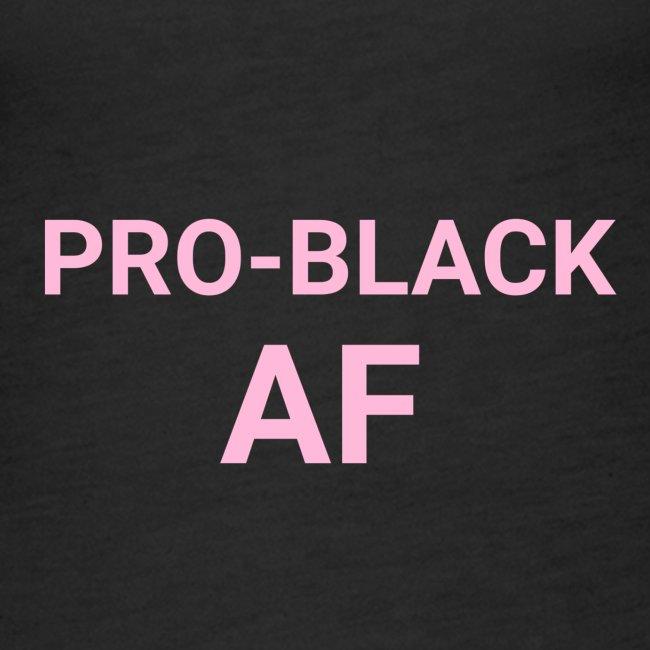 pro black af pink