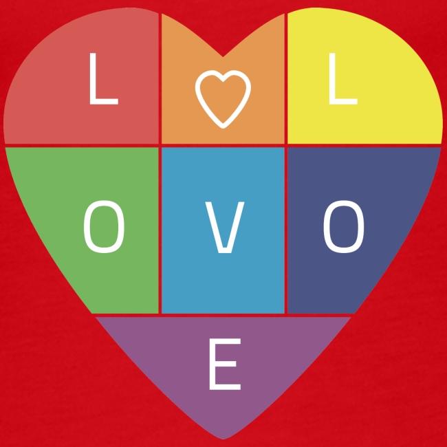 Rainbow Heart