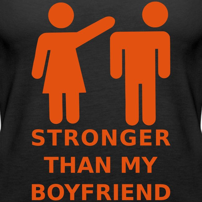 My girlfriend is stronger than me stories